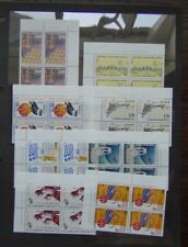 More details for greece 1995 anniversaries and events set in block x 4 mnh