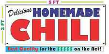 HOMEMADE CHILI BANNER Sign NEW Larger Size Best Quality for the $$$ BAKERY