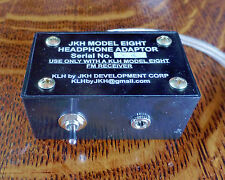 "KLH Model Eight 8 Headphone Adaptor Adapter with 1/8"" jack"