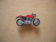 Pin Anstecker Triumph Thruxton rot red Art. 1276 Motorrad Moto Motorbike
