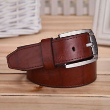 Men's Leather FashionWaistband Belts Trousers Pin Buckle Waist Strap Punk Gift