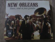 VA : New Orleans - Blues, Soul & Jazz Gumbo Double CD Coffert With Poster