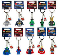NEW LEGO MINIFIGURES SUPER HERO KEYCHAIN PICK THE FIGURE YOU WANT! VENDSTOCK