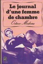 Octave Mirbeau - Le journal d'une femme de chambre - Jeanne Moreau en couverture