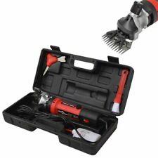 vidaXL 142035 350W Set Maquinilla Esquiladora para Ovejas - Negra/Roja