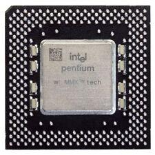Intel Pentium MMX SY060 200MHz/66MHz Socket/Sockel 7 CPU FV80503200 Processor