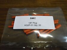 """Qty 20 Smc Kq2P-01 one touch Plug 1/8""""push to connect air fitting tubing Festo"""