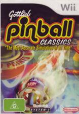 Gottlieb Pinball Classics Nintendo Wii
