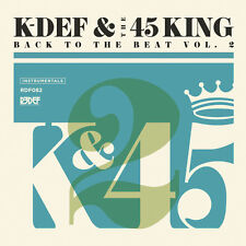 K-Def & 45 King - Back to the Beat 2 [New Vinyl]