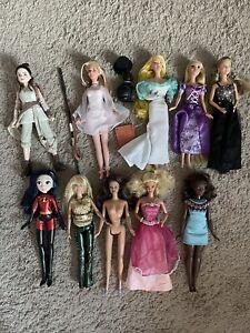 Disney Barbie Lot Swan Princess Odette Rapunzel Princess