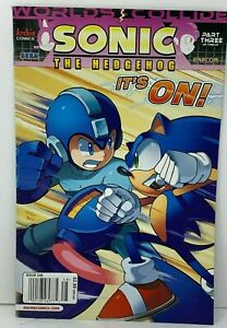Sonic The Hedgehog #248 Archie Comics Worlds Part 3 Collide Mega Man Sega Capcom
