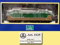 OS.KAR  1125 D445 1017 Verde/isabella 1a serie, vetri curvi, deposito Bari. FS