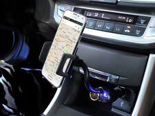 Car Phone Holder Cigarette Lighter Plug Stand w/ USB Dock for LG G4 / G5 Phones
