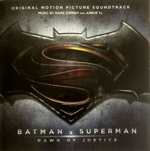 Hans Zimmer And Junkie XL CD Batman v Superman: Dawn Of Justice (Original Motio