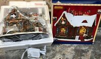 New Lemax 'Twas The Night Before Christmas Santa Sleigh Reindeer Sights Sounds