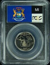 2004-S PCGS PR69DCAM Michigan Statehood Quarter