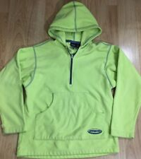Patagonia Jacket Pullover Fleece Youth Large 12 Yellow