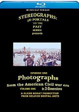 Restored Stereographs and Images from The American Civil War on 3D Bluray