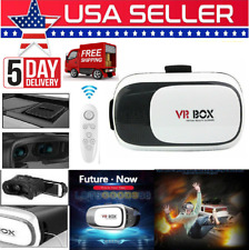 VR Box 2.0 Google Cardboard Virtual Reality 3D Glasses For Android IOS iPhone US