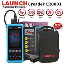 Original LAUNCH Creader 8001 OBDII Scanner ABS SRS EPB Oil Reset Diagnostic Tool
