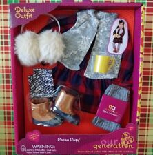 "New In Box Our Generation COCOA COZY Deluxe Outfit Clothes for 18"" Dolls"