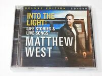 Into the Light Life Stories & Live Songs by Matthew West Deluxe Edition CD & DVD