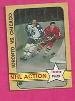 1972-73 OPC # 209 LEAFS DAVE KEON ACTION EX CARD (INV# C3079)
