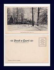NEW YORK WHITE PLAINS GREENRIDGE AVENUE UNDIVIDED BACK POSTCARD CIRCA 1905