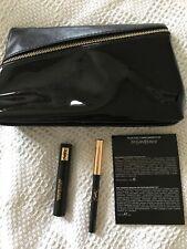 YVES SAINT LAURENT Eye Make Up Gift Set Bag Mini Mascara False Lash/Eye Pencil