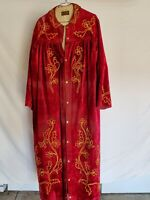 Antique Odd Fellows Red Noble Gaurd Robe
