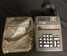 Vintage COMMODORE US 10 Calculator Math Adding Machine Tested Works!