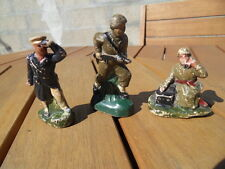 soldats figurine militaire WWII composition Durso Lineol elastolin ???