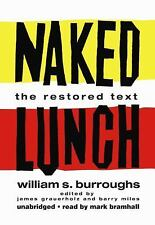 Naked Lunch : The Restored Text by William S. Burroughs (2009, CD, Unabridged)