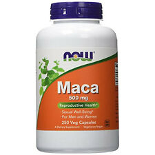 Maca 500 mg 250 Veg Capsules - NOW Foods