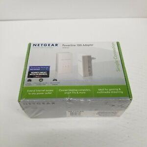 Netgear Powerline 100 Adapter XAVB1201, New Sealed