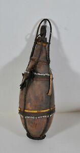 Antique Water bottle, Papua New Guinea, Tribal art, 18th century