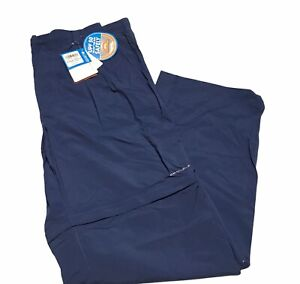 Columbia Men's Backcast Convertible Fishing Pants with UPF 30 fabric size XL NEW