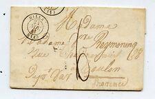 LETTRE ANCIENNE / MILLAU / TOULON 1841