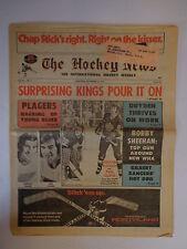 The Hockey News November 17, 1972 Vol26 No.7B Plager Achon Curtis Dryden Nov '72