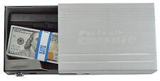 Portable Car Key Safe Small Security Gun Case Lock Travel Home Box Firearm Cash