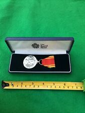 More details for vintage fire brigade long service & good conduct medal in presentation box