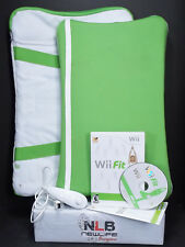 Wii Fit Balance Board With Wii Fit Game, Board Cover, Board Case & Nunchuk