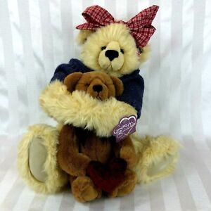 """Annette Funicello Knickerbocker Jointed Bear & Teddy My Heart Belongs To You 16"""""""