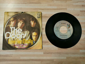 THE DOORS - LOVE HER MADLY / DON'T GO NO FURTHER - 7-Inch Single Vinyl