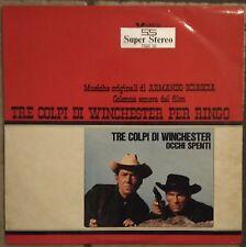 Armando Sciascia-Tre Colpi Di Winchester Per Ringo Lp 1 stampa 1965 Ost