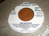 Leon Haywood 45 Fine and Healthy Thing MCA PROMO
