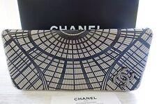 Chanel-bolsa más bella-clutch, gris, Hell-gris,! nuevo!