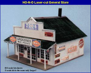 Blair Line (N-Scale) #080 Blairstown GENERAL STORE (Wood Laser Kit) NIB