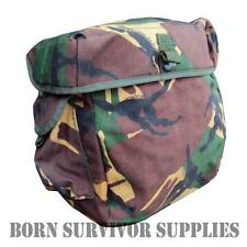 GENUINE BRITISH ARMY RESPIRATOR BAG DPM CAMO Satchel Grab Haversack S10 Gas Mask