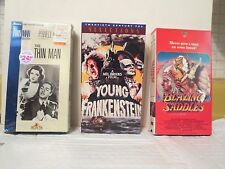 9 VIDEOS (Young Frankenstein, Woody Allen, Monty Python, Roger Rabbit, Thin Man